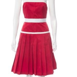 D&G Strapless Mini Dress